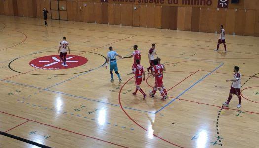 SC Braga/AAUM volta a empatar em casa