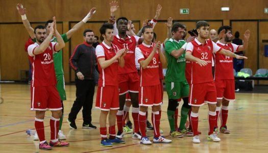 SC Braga/AAUM empata em casa