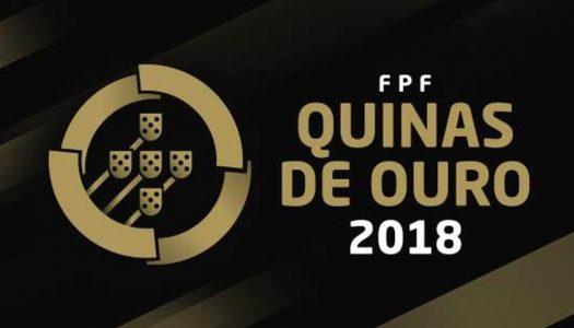 Ana Azevedo e atletas do SC Braga premiadas na Gala Quinas de Ouro