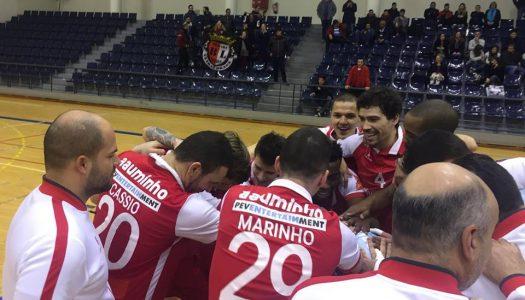 """SC Braga/AAUM """"voa"""" mais alto frente ao Rio Ave"""
