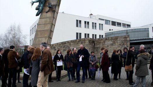 Professores da UMinho em protesto contra o atraso nas progressões salariais