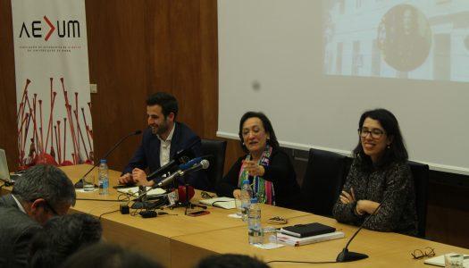 """Joana Marques Vidal considera que """"existe um afastamento dos alunos face ao Ministério Público"""""""