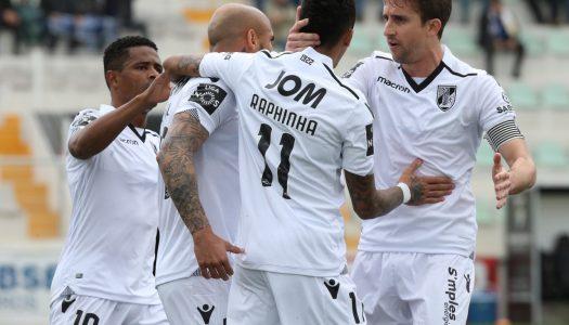Liga NOS. Vitória SC regressa às vitórias