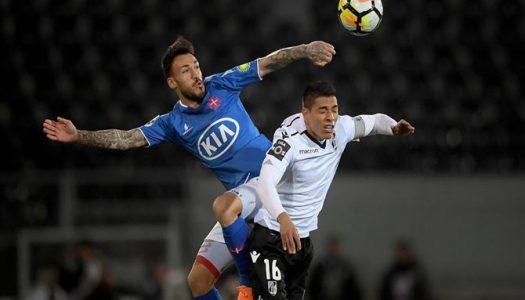 Vitória SC arranca empate frente ao Belenenses