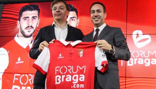 Forum Braga patrocina camisolas do SC Braga
