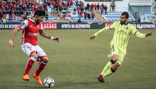 SC Braga goleia em Chaves