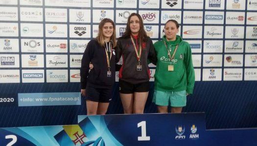 Tamila Holub sagra-se campeã nacional e bate recorde de Portugal