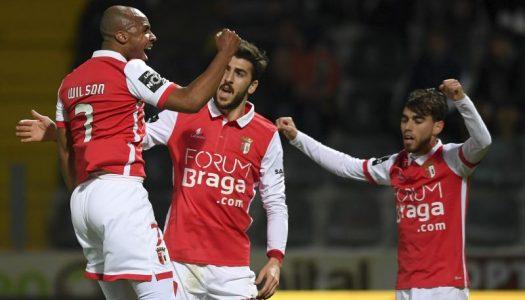 SC Braga sem azar em Paços de Ferreira