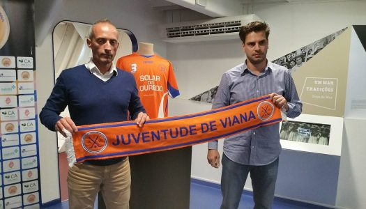 Renato Garrido e Edo Bosch de saída da Juventude de Viana