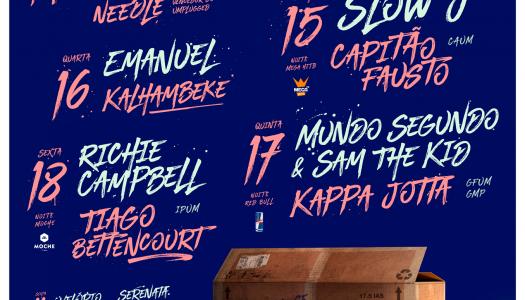 Enterro da Gata: The Legendary Tigerman e Agir encabeçam cartaz final de 2018