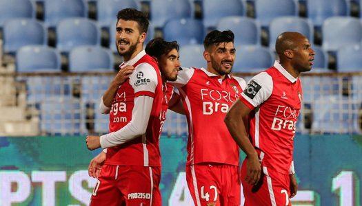 Golo de Paulinho dá os três pontos ao SC Braga