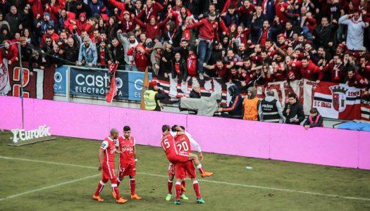 SC Braga marca passo na Feira