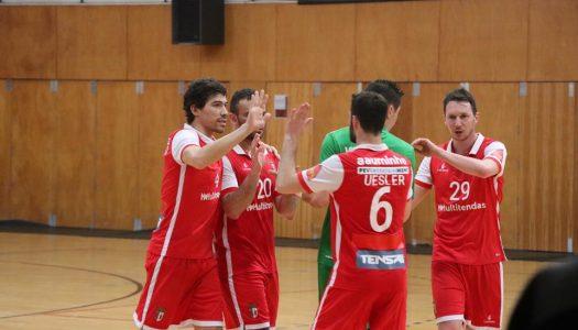 SC Braga/AAUM soma e segue