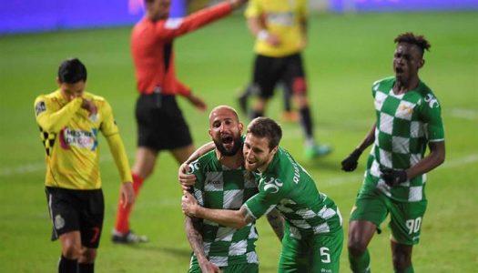 Golo de Neto promove regresso do Moreirense às vitórias