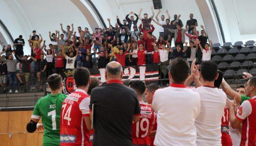 SC Braga/AAUM goleia FC Azeméis e está nas meias-finais