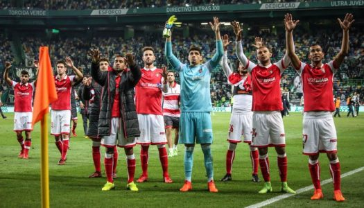 Futebol: Época para recordar do SC Braga