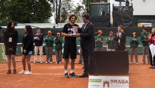 Ténis. Pedro Sousa vence Braga Open
