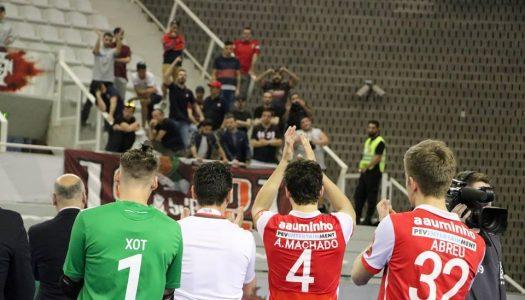 SC Braga/AAUM fora da Taça de Portugal