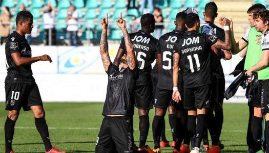 Vitória SC regressa aos triunfos fora de casa