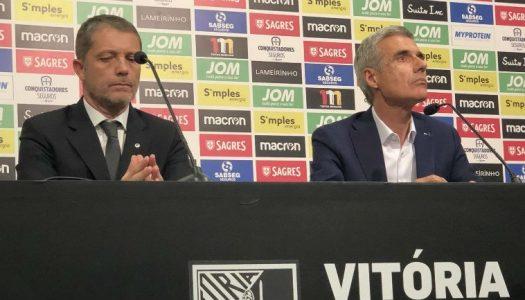 Luís Castro assume comando técnico do Vitória SC