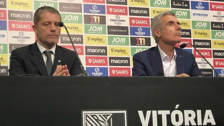 Novo treinador do Vitória SC