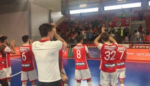 Liga Sport Zone. SC Braga/AAUM afastado nas meias-finais