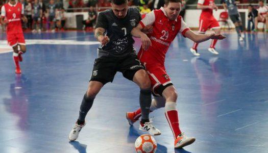 SC Braga/AAUM vs SL Benfica (destaques)