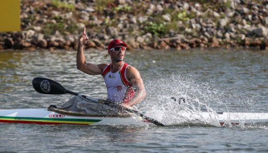 Fernando Pimenta sagra-se tricampeão europeu em K1 1.000 metros
