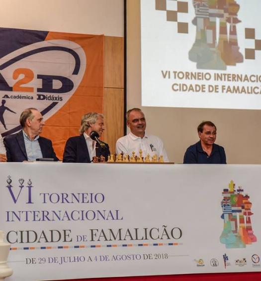 Convidados na conferência de imprensa