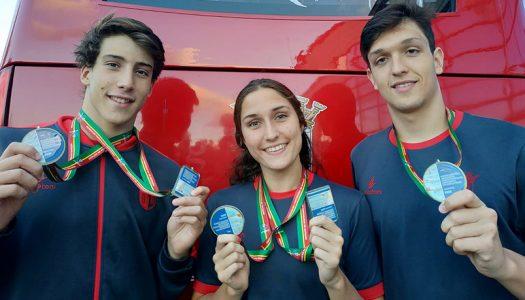 Medalhas para clubes minhotos no Open de Portugal de natação