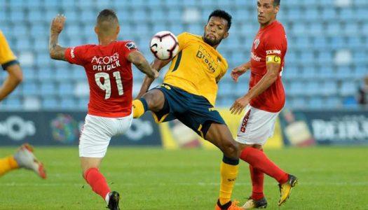 SC Braga tropeça nos Açores