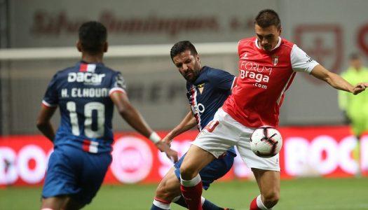 SC Braga reage e regressa às vitórias