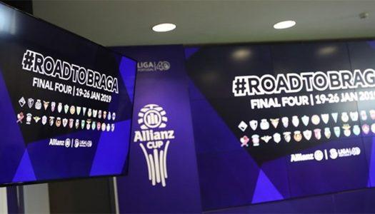 Minhotos conhecem destinos na Allianz Cup e Liga NOS