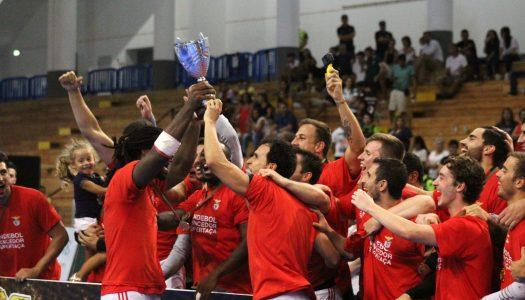 SL Benfica vence Sporting CP e conquista Supertaça de andebol