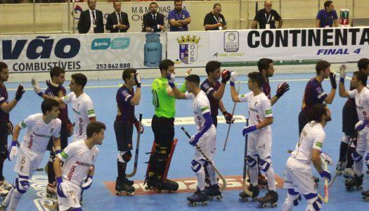 OC Barcelos perde e falha final da Taça Continental