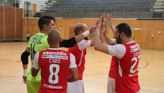 SC Braga/AAUM sofre derrota caseira