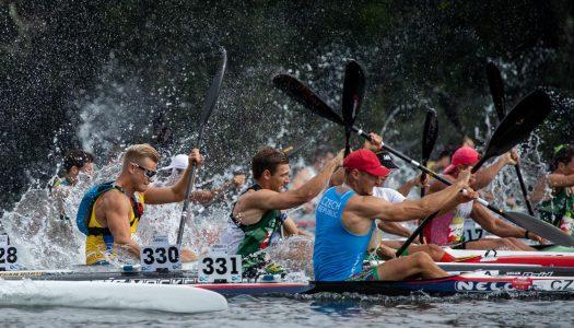 Sérgio Maciel conquista ouro nos Mundiais de canoagem