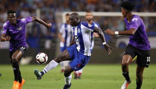 Moreirense derrotado pelo FC Porto