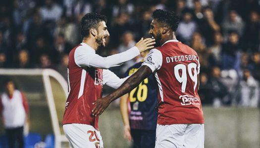 SC Braga carimba passaporte para os 16 avos-de-final