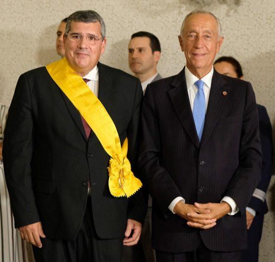 Presidente da República condecora ex-reitor da UMinho