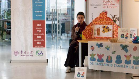"""Nanni Pinto apresenta """"Os pássaros também se sentam"""" em Braga"""