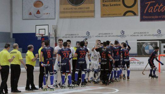 HC Braga resgata empate em partida energética