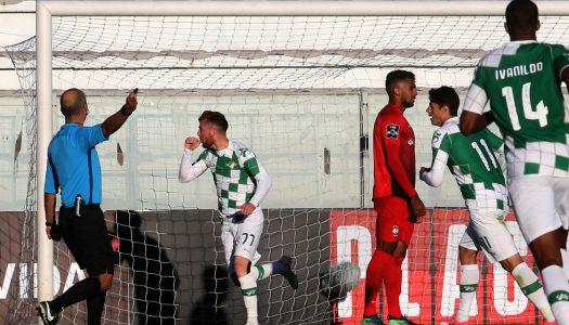 Moreirense soma mais três pontos frente ao Marítimo
