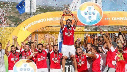Futebol de praia. Cinco Gverreiros entre os melhores do mundo