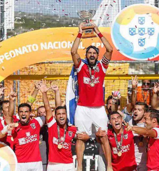 """Quatro """"gverreiros"""" entre os melhores do mundo de futebol de praia"""