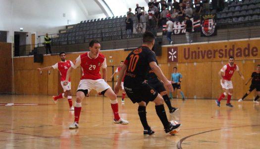 SC Braga/AAUM soma terceira derrota na Liga Sport Zone