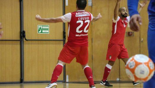 SC Braga/AAUM soma vitória importante fora de casa