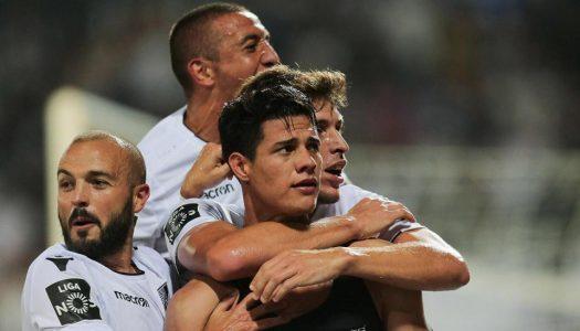 Vitória SC regressa aos triunfos frente ao Santa Clara