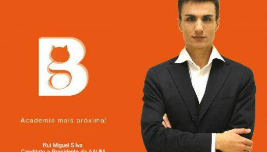 Rui Miguel Silva candidata-se à AAUM