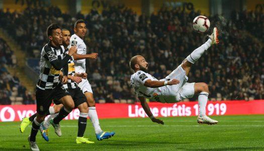 Vitória SC empata a zero com o Boavista FC